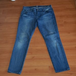7 for all mankind Josephina skinny boyfriend jeans